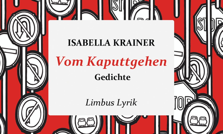 Isabella Krainer: Vom Kaputtgehen (Buchcover)