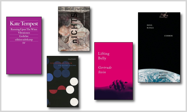Neue Bücher Frühjahr 2020: Tempest, Fritschi, Stein, Ranga