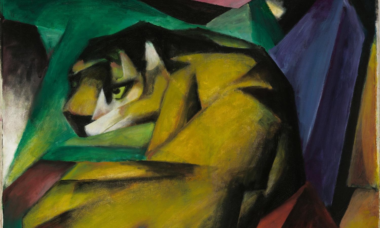 Franz Marc Tiger Gemälde Expressionismus